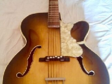 guitare jazz manouche  kingston vintage 1945 / 1955