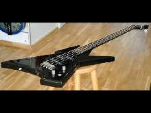 90's Grass Roots Spider Bass 4-String Guitar - Made in Korea