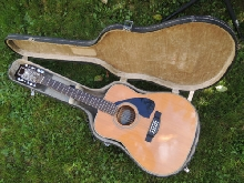Belle Guitare 12 cordes FOLK YAMAHA FG-420-12 DREADNOUGHT + Vintage CASE