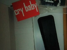 Jim Dunlop Cry Baby WAH Pedal GCB95 CryBaby guitar effects pedal wah wah boite