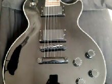 Guitare electrique epiphone les paul custom midnight limited edition