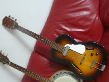 Framus Studio guitar Made In Germany 1960's Vintage Modified