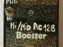 AC128 Treble/MId Booster Pedal