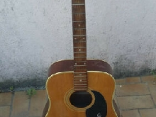 Vintage Guitare Acoustique EPIPHONE FT-145 TEXAN JUMBO MI JAPAN Guitar