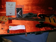FENDER Jaco Pastorius Tribute Jazz Bass CS
