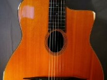 GUITARE JAZZ MANOUCHE ancienne made in Japan