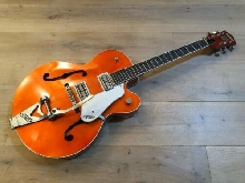 Gretsch 6120 Brian Setzer Hot Rod 2002 Tangerine