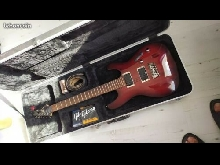 Guitare ibanez s 421,fly case,cordes,sangle quick lock
