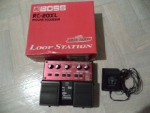 PEDALE Used Boss RC-20XL Phrase Recorder Loop Station Pedal GUITARE