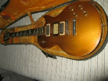 GIBSON LES PAUL DELUXE COLLECTION 1975 GOLD MADE IN USA N° SERIE 99222720