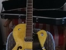 Guitare Gretsh electromatic 5128 Gold