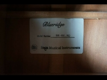 blueridge BR-05 électro acoustique (flight case)