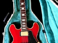 Vintage guitar Maison Sas 620 upgraded copy gibson es 335