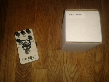 Hermida Audio Tiki Drive Love pedal Boss MXR TC electronic
