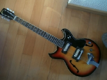 Guitare Audition/Teisco hollowbody vintage