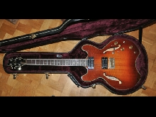 Guitare electrique DAION Headhunter HH-555 semi-hollowbody