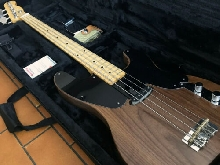 Precision Bass 51 Replica - Walnut / Maple with Case & Strap