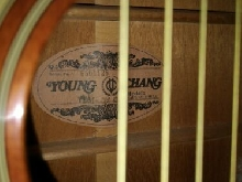 Guitare acoustique vintage Young Chang
