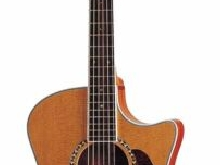 Guitare Folk Electro-Acoustique Crafter GAE-7/N + Housse Crafter