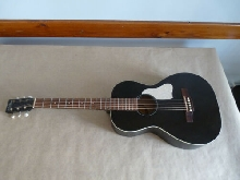 Guitare Parlor Art et lutherie noire, Roadhouse faded black, Godin peu servi TBE