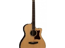 Cort GA5F-PF - Guitare électroacoustique Grand Regal - Naturel brillant