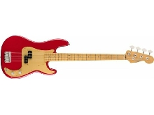 Fender Vintera '50s Precision Bass - touche érable - Dakota Red (+ housse)