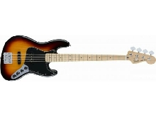 Fender Deluxe Active Jazz Bass - touche érable - 3 Color Sunburst (+ housse)