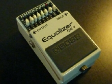 Boss GE-7 Guitar effect pedal - Rare 1981 Made in Japan - Vintage Collection