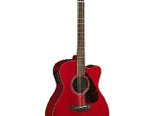 Yamaha FSX800C Ruby Red - Guitare Electro acoustique