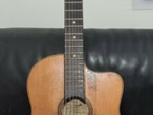 ARTHUR CARBONELL ancienne guitare jazz manouche