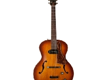 Guitare Electro-Acoustique Jazz Godin 5th Avenue Kingpin P90 Cognac Burst +Tric