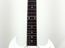 Guitare Electrique Gibson SG Special Faded 3 Pickup Worn White + Etui Rigide