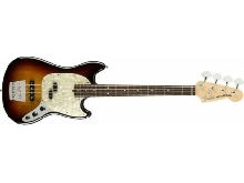 Fender American Performer Mustang Bass + housse deluxe - touche palissandre - 3