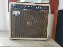 AMPLI GUITARE 80'S VINTAGE AIDEAN ZOOM M-SERIES M-40 80 WATTS FONCTIONNE 220V