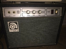 70's AMPEG SOLID STATE GUITAR AMP G18  MADE IN USA
