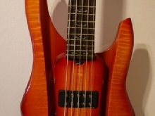 RKS 5-String E- Bass made in California USA /// Top condition, ebony fingerboard