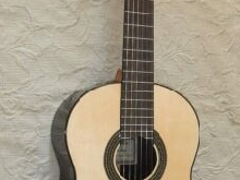 Kenny Hill 640 estudio short scale classical guitar / spruce top