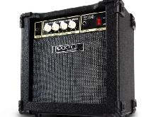 Bass Combo Amp Mini Amplificateur Ampli Basse 15 Watt 3 Band EQ AUX Casque