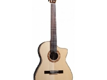 Guitare Electro Classique Crossover MARTINEZ MP14-RS Epicéa Massif / Rosewood