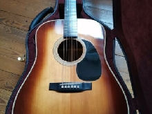 Martin d28 shaded sunburst anno 1975