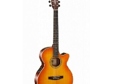 Cort Action L150F - Guitare électro-acoustique série Luce - Light vintage burst