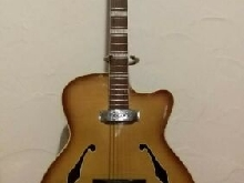 Superbe collector concert GUITARE ROYAL MAJOR JACOBACCI Annee 1958