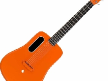 LAVA ME 2 FREEBOOST OR GUITARE FOLK ELECTRO DE VOYAGE ORANGE