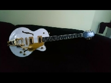 Gretsch G5655TG Center Block Jr Ltd in Snow Crest White