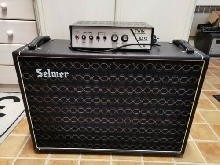 Selmer Twin Bass 30 Vintage Guitar Amplifier Tube Head Vox Bass Amp Effect