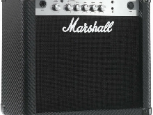 Amplificateur pour guitare électrique Marshall MG15CFR finition carbone