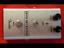 Pedale FENDER LEVEL SET BUFFER OCCASION NEUVE