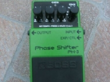 Pedale Guitare BOSS  PHASE SHIFTER PH - 3 Année 2009