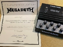 HARTKE BASS ATTACK Preamplifier Effects Pedal previously owned by DAVE MUSTAINE