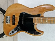 Fender jazz bass 1976 Naturelle touche nacrée